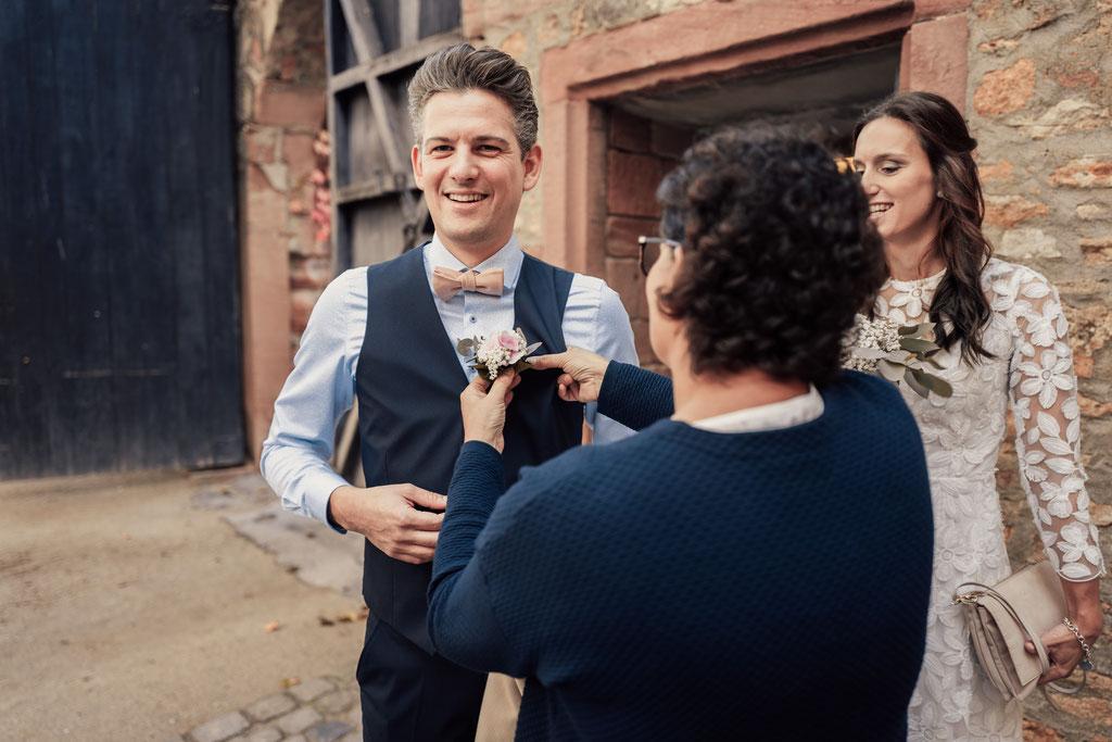 Hochzeitsfotografin Idstein, Bräutigam