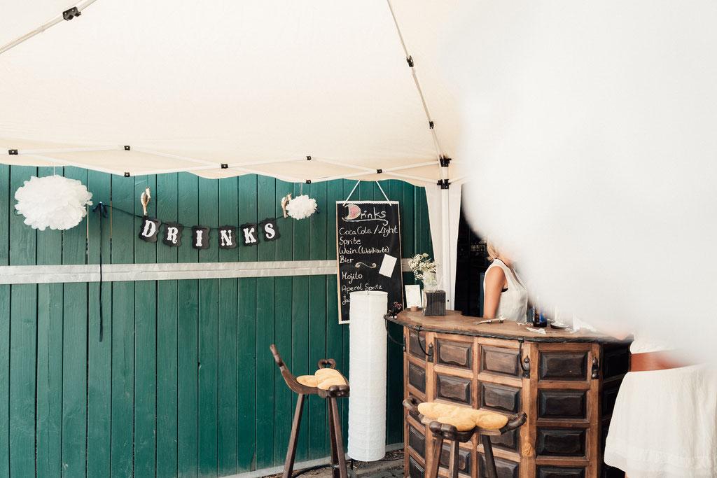lentschik, hochzeitsfotografin eltville, Rheingau, drinks, bar, deko