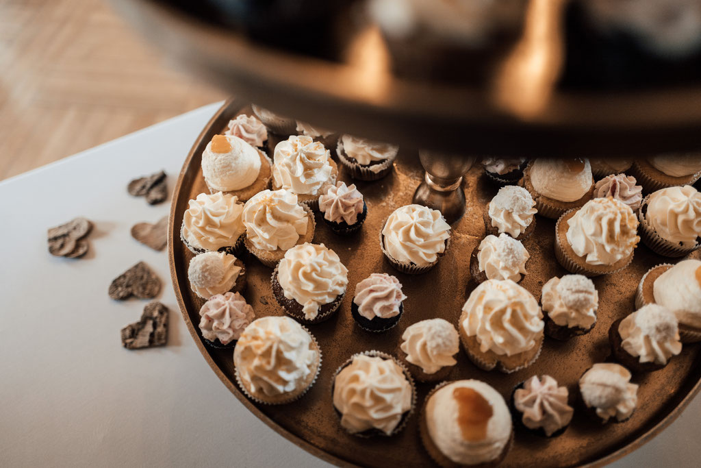 Hochzeitsfotografin Idstein, Cupcakes, Törtchen, Catering