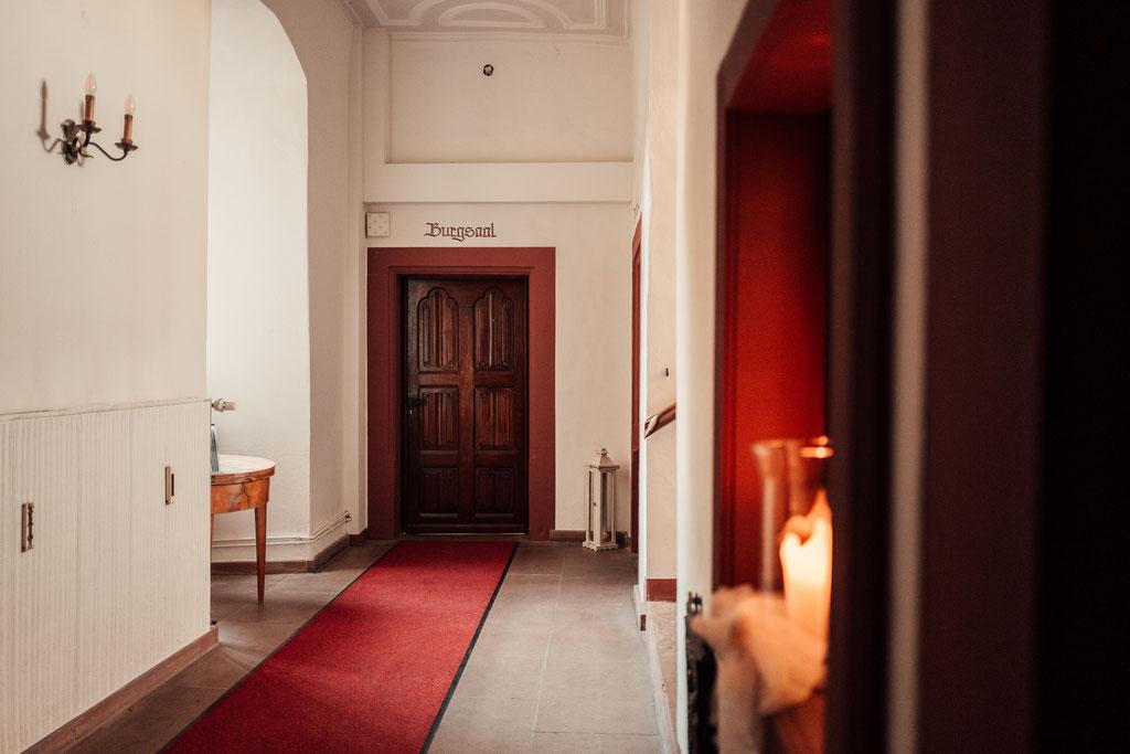 Hochzeitsfotografin Idstein, Burgsaal