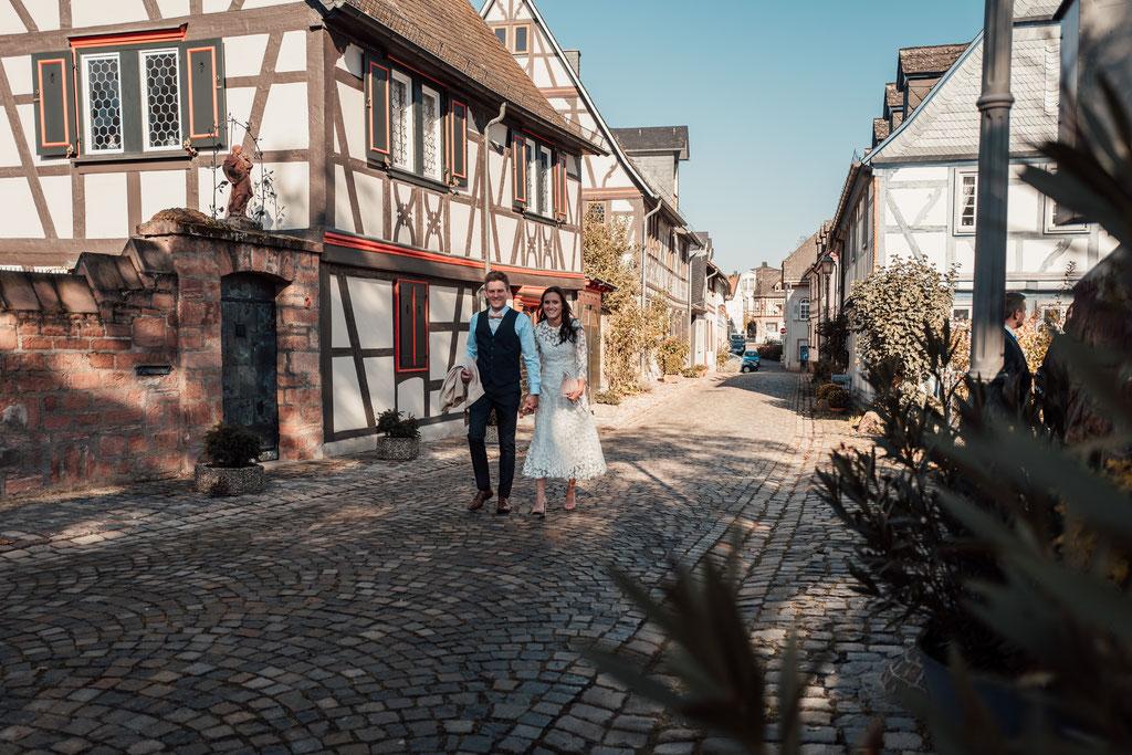 Hochzeitsfotografin Eltville, Altstadt