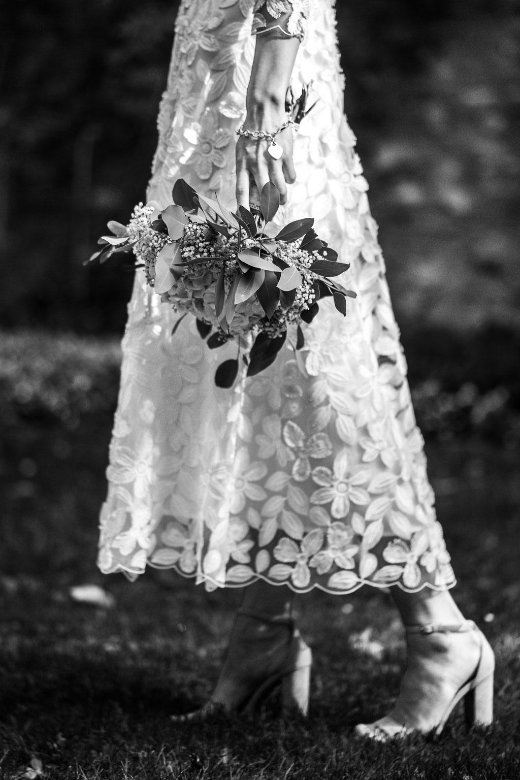 Hochzeitsfotografin Idstein, Brautstrauß modern, Brautstrauß Eukalyptus
