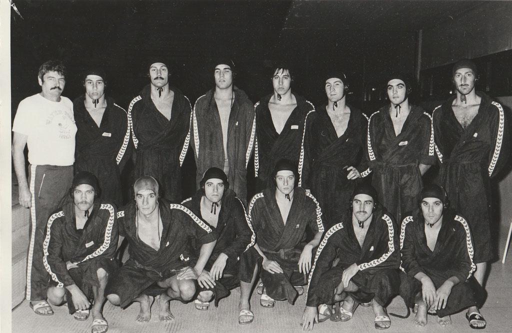 Champion de France 1981:M.Idoux, M.Crousillat,A.Mikaelian,P.Pariente,P.O Delange, Luc Morel, M.Croussilat, E.Lefert,G.Mari,S.Vian,J.Vendassi,F.Mireur,Lionel Piolet.