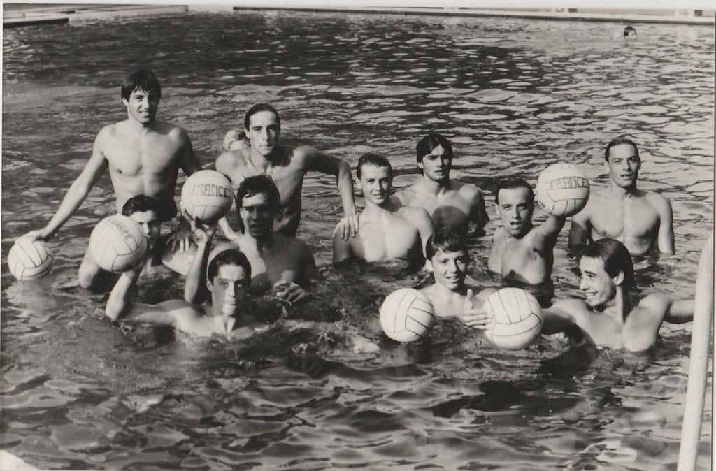 Champion de France Junior 1981/1982: Les 4 Marseillais ; F.Mireur, Michel Crousillat,Jim Martin, P.O Delange,