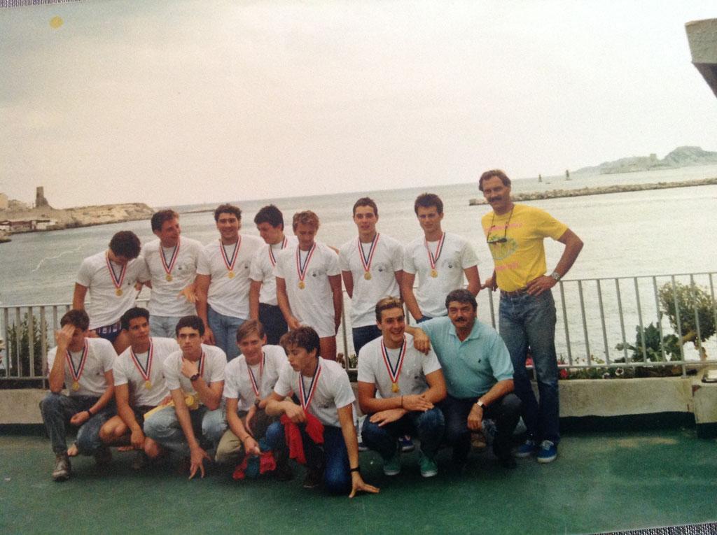 Equipe Championne de France juniors 1987