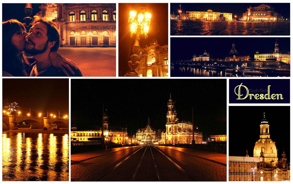 Dresden bei Nacht www.zufusszius.wordpress.com