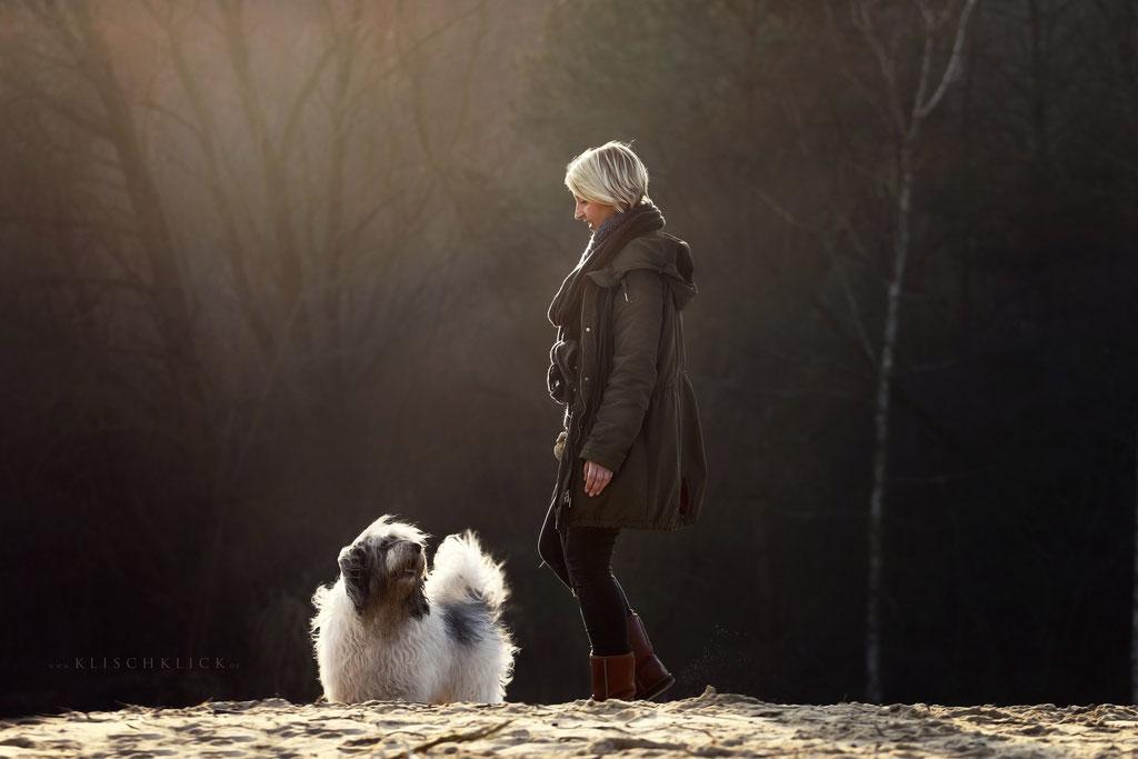 Mein Hund und ich Tierfotografie Berlin