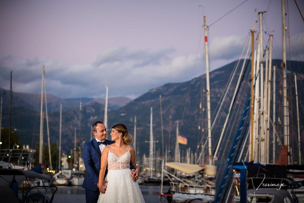 wedding photographer kalamata at yatching