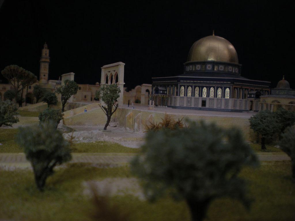 Dôme du Rocher, Jérusalem interprétation et réalisation Hervé Arnoul  1/200e