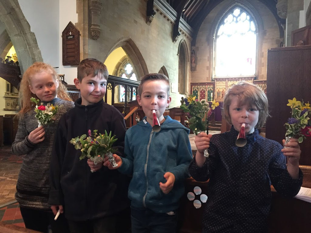 Make a joyful noise (!)