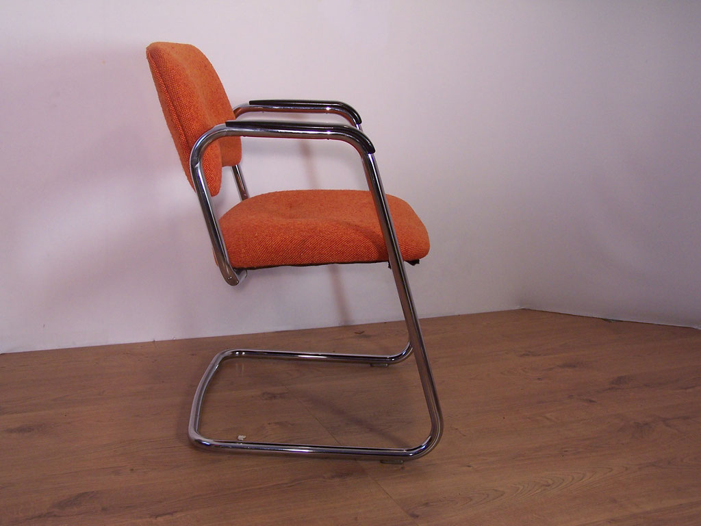 Fauteuil Strafor vintage