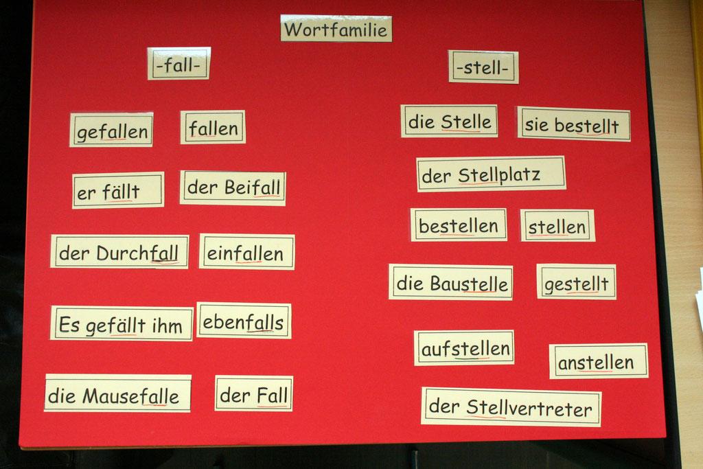 Wortfamilien