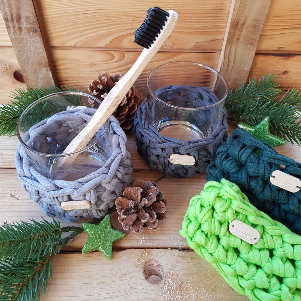 Windlicht klein Zahnbürste