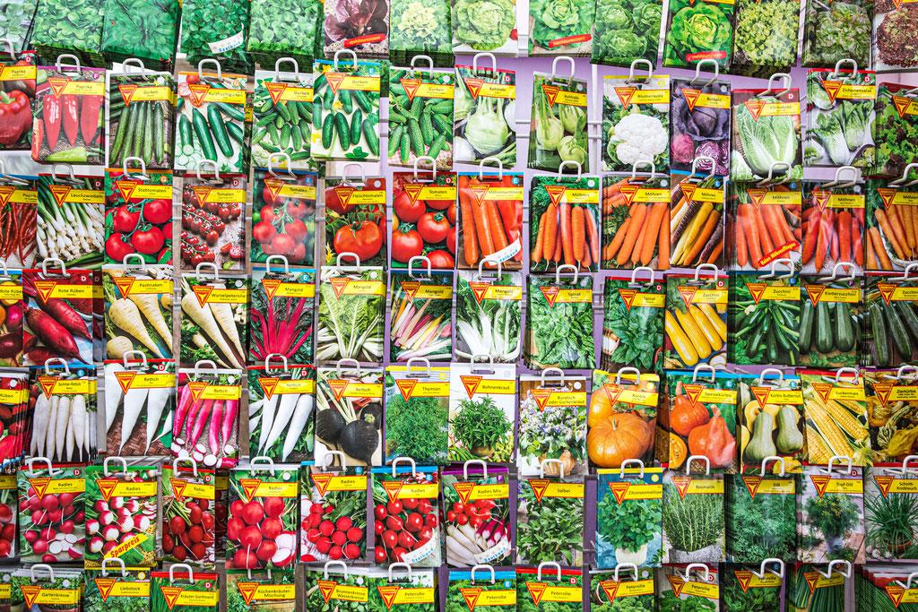 Saatgut, Samen für Kräuter, Salat und  Gemüse kaufen, bestellen in Würzburg