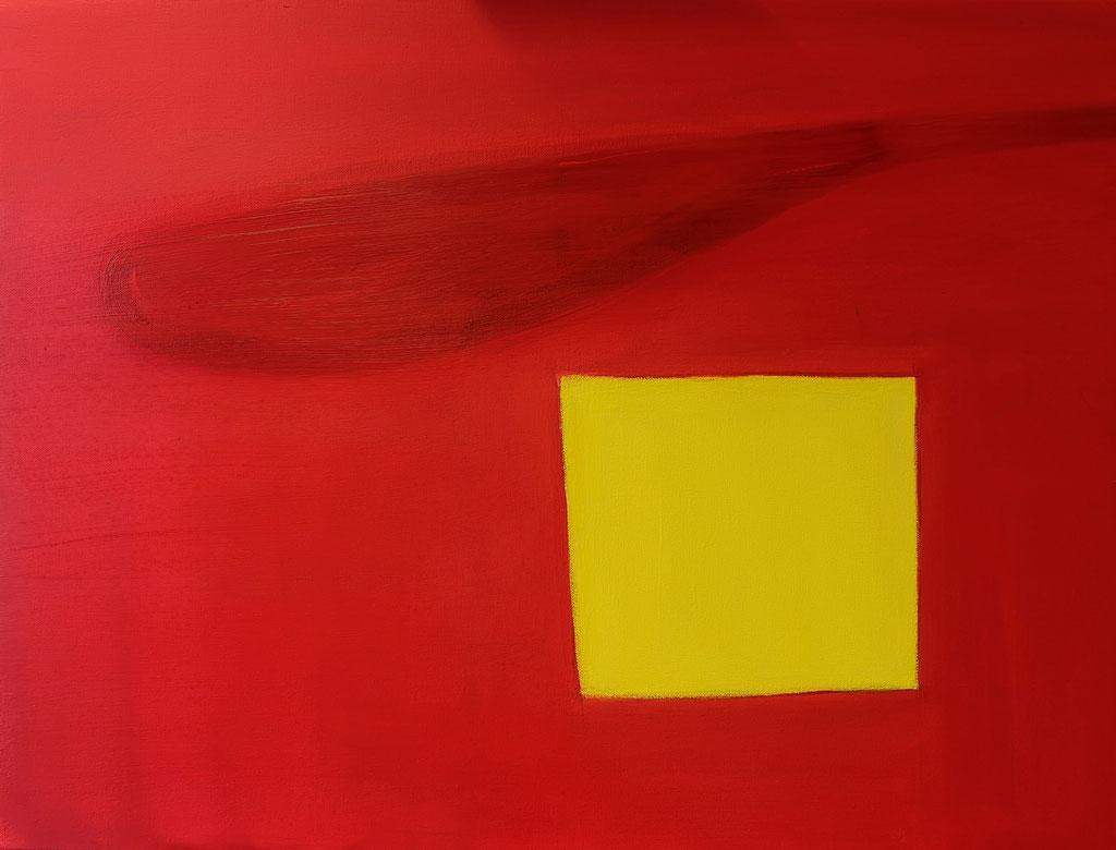 Farbkomposition II, Acryl auf Leinwand, 70 cm x 80 cm