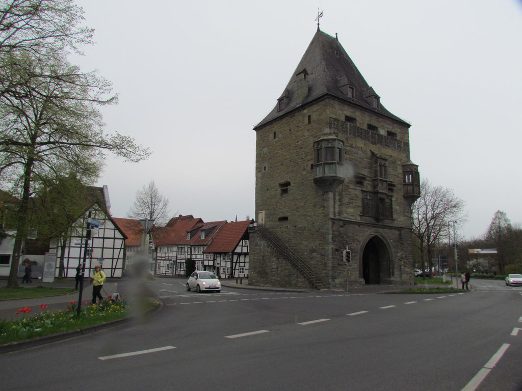 das letzte von ehemals zehn Stadttoren