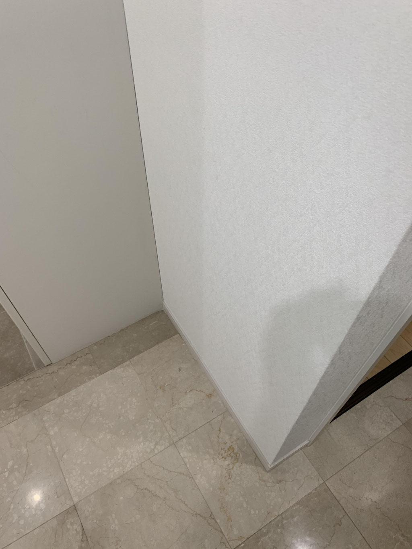 洗面台設置前