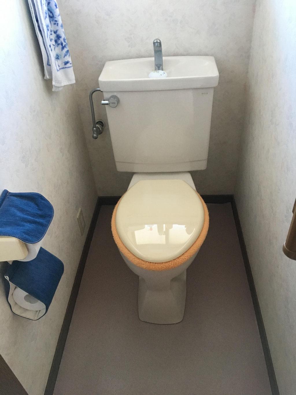 トイレ交換前