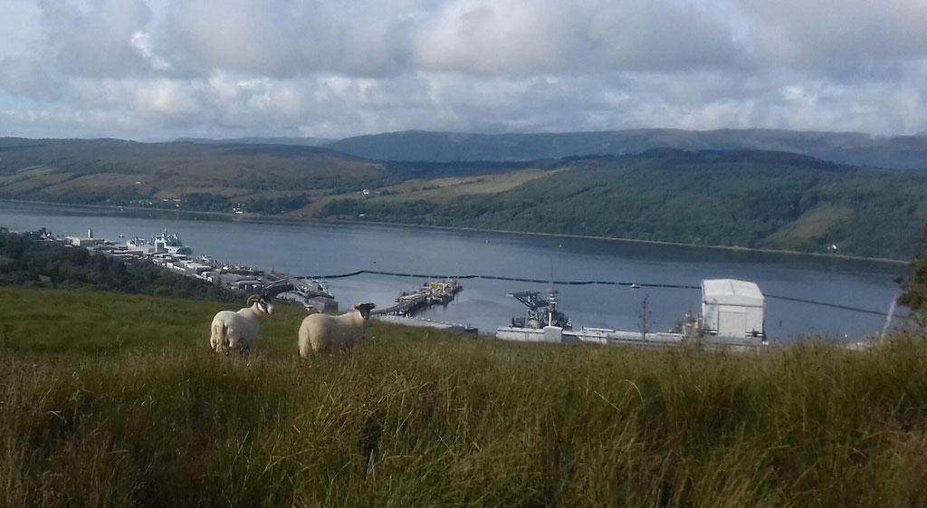 2018 August HMNB Faslane / Scotland