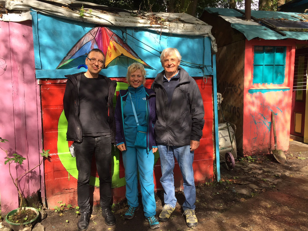 2018 August Faslane Peace Camp / Scotland