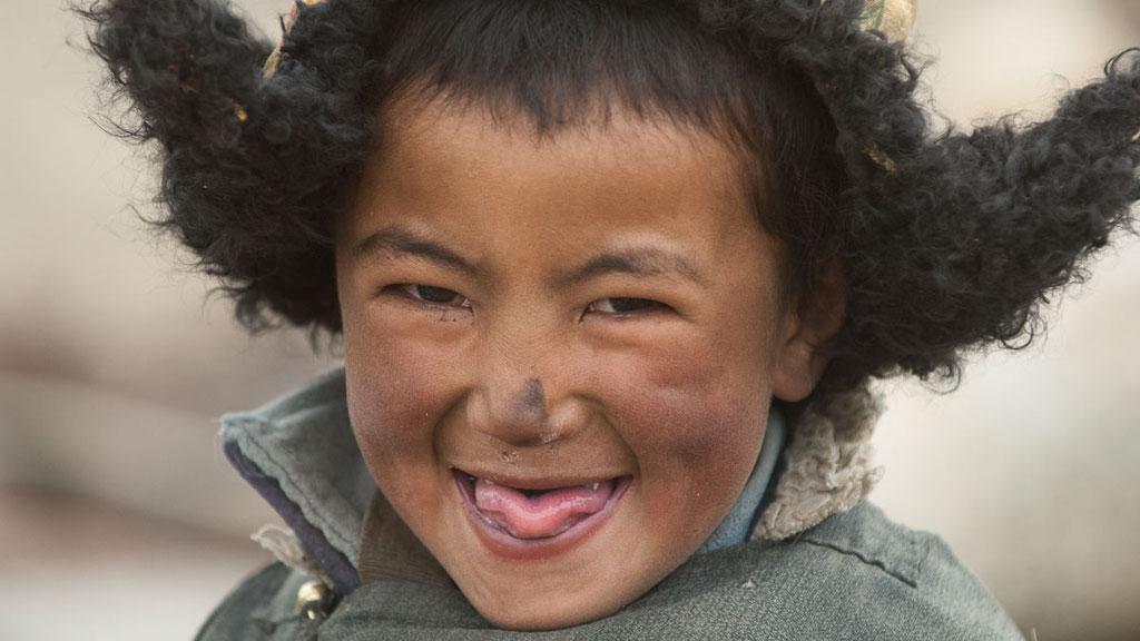 Ladakhischer Nomadenjunge