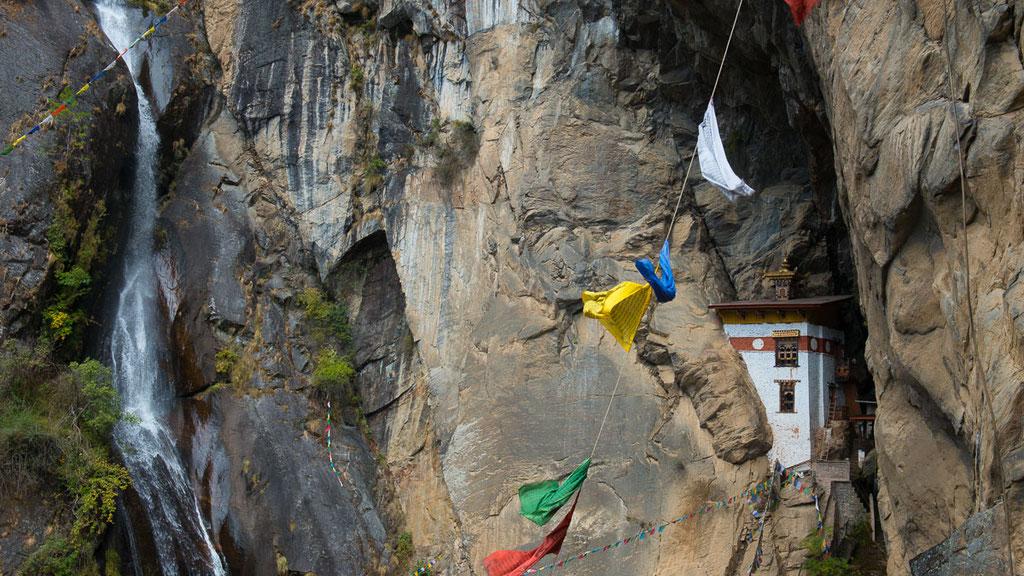 Kleine Einsiedelei in Bhutan