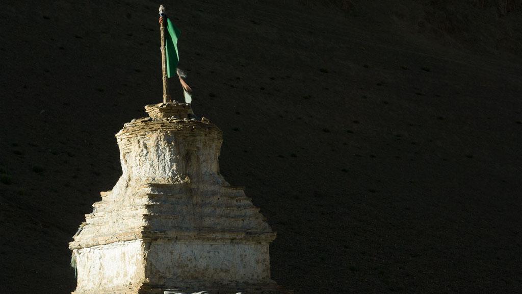 Alter Chörten beim Kloster Dat in Kharnak