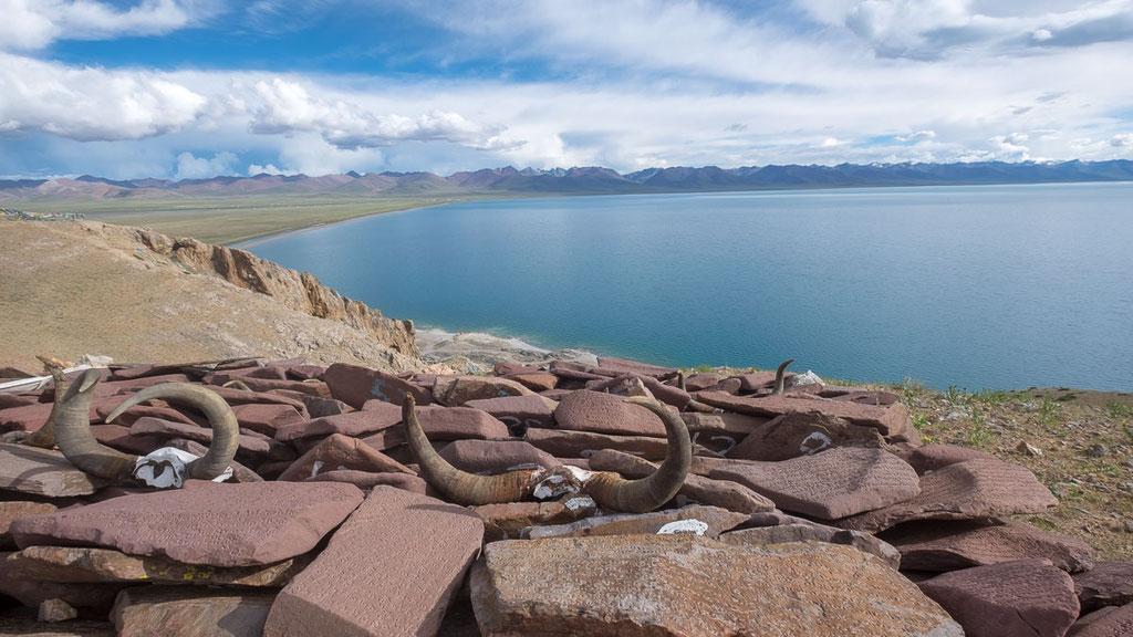 See Namtso auf einer Höhe von 4700 Metern