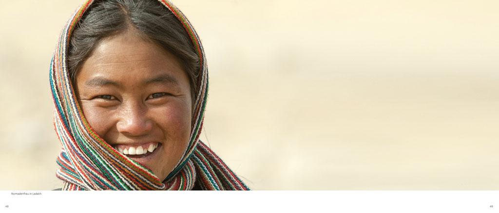Himalaya Bildband, Ladakh, Frau in Ladakh