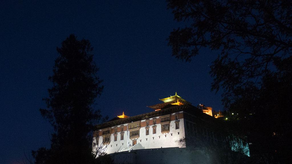 Grosses Dzong von Paro