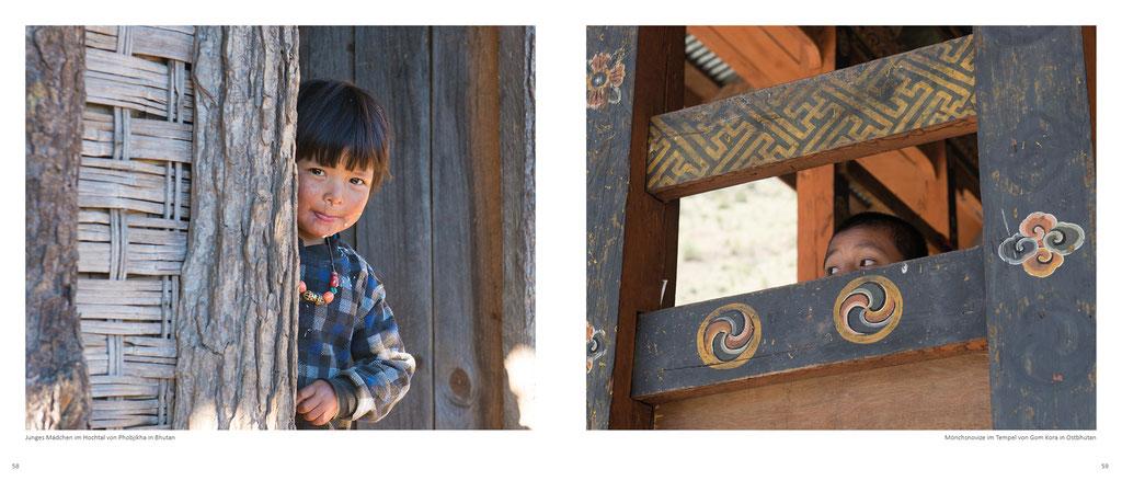 Himalaya Bildband, Kinder in Bhutan