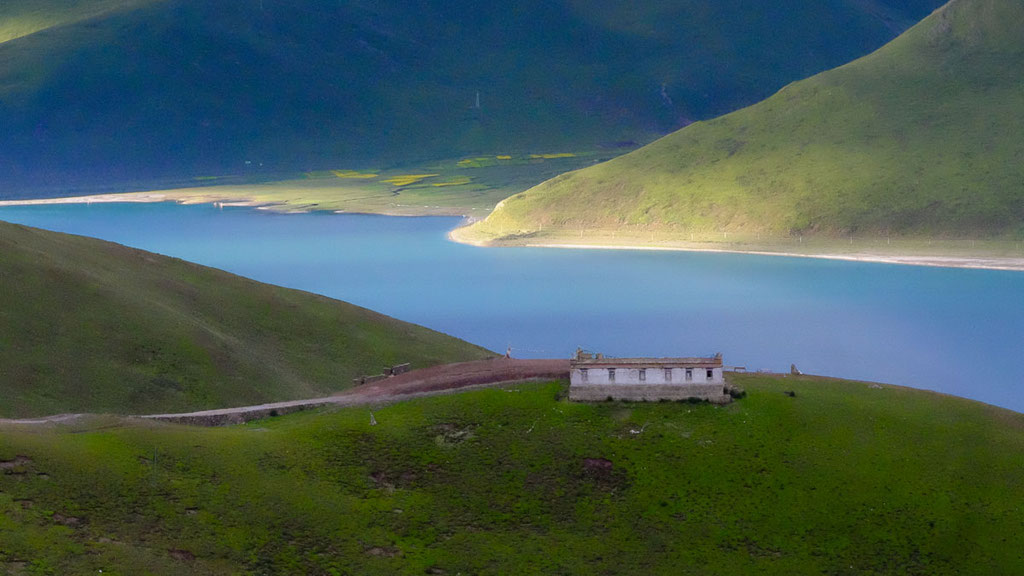 Yamdrok-See in Tibet