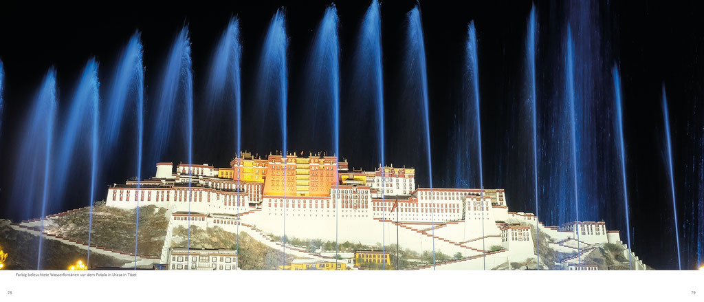 Himalaya Bildband, Tibet, Potala in Lhasa