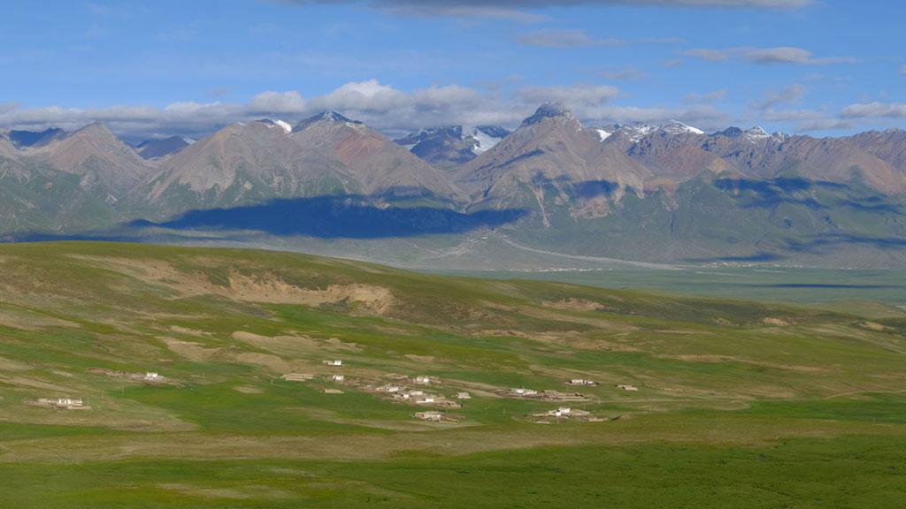 Dorf Tajung in Tibet