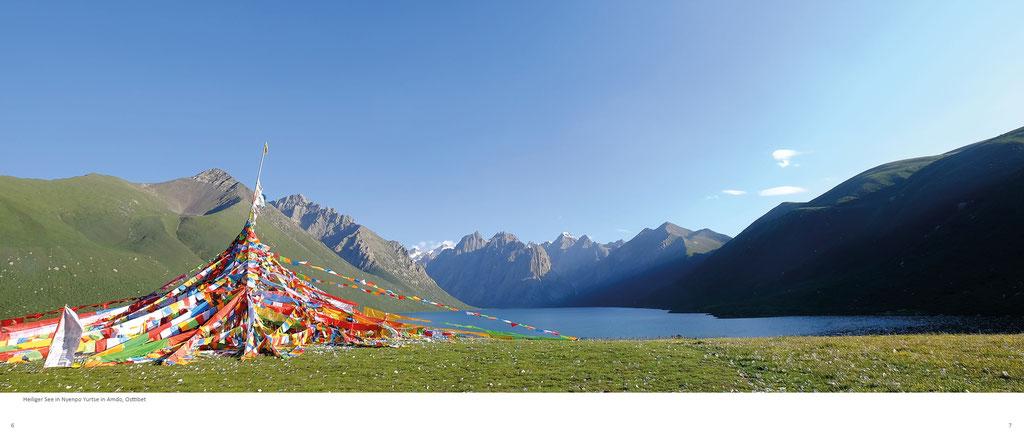 Himalaya Bildband, Amdo, Heiliger See in Nyenpo Yurtse