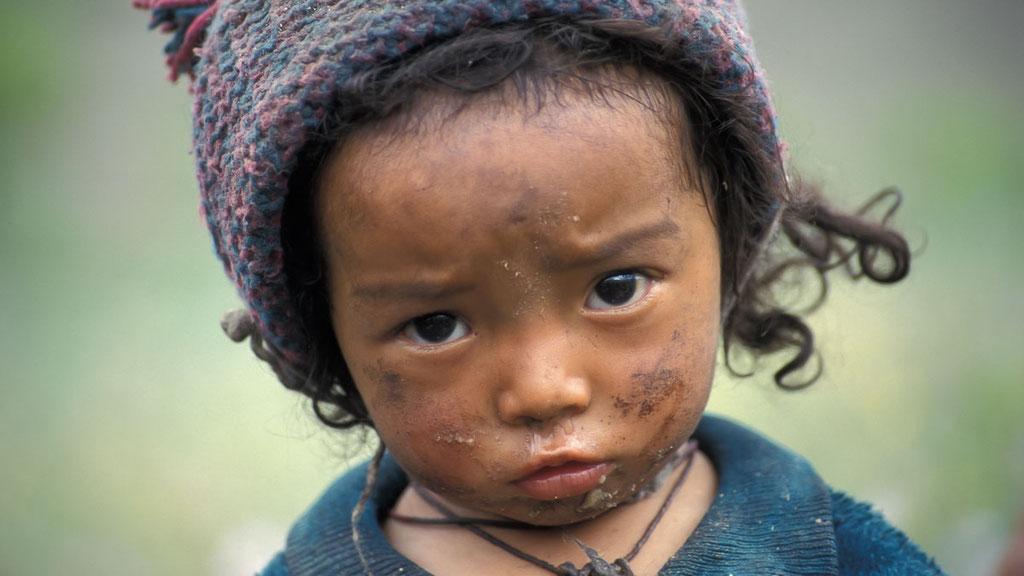 Ladakhisches Kind