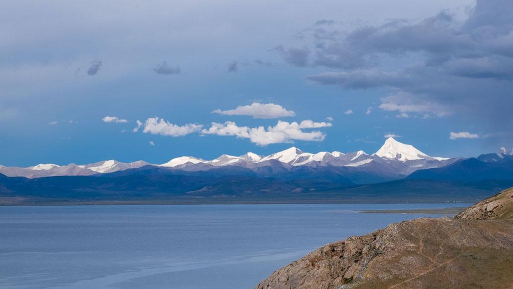 Der See Namtso gilt als grösster See in der Autonomen Region Tibet
