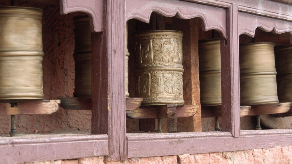 Gebetsmühlen in Ladakh