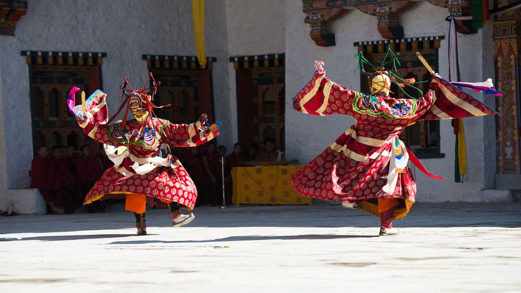 Klosterfest im Kloster Mongar