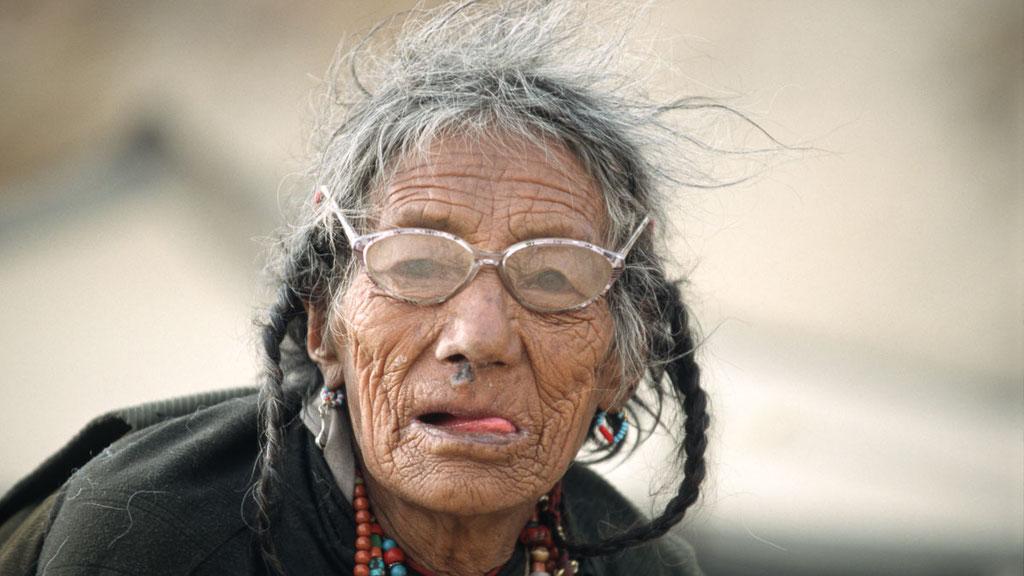 Abile - Grossmutter auf ladakhisch