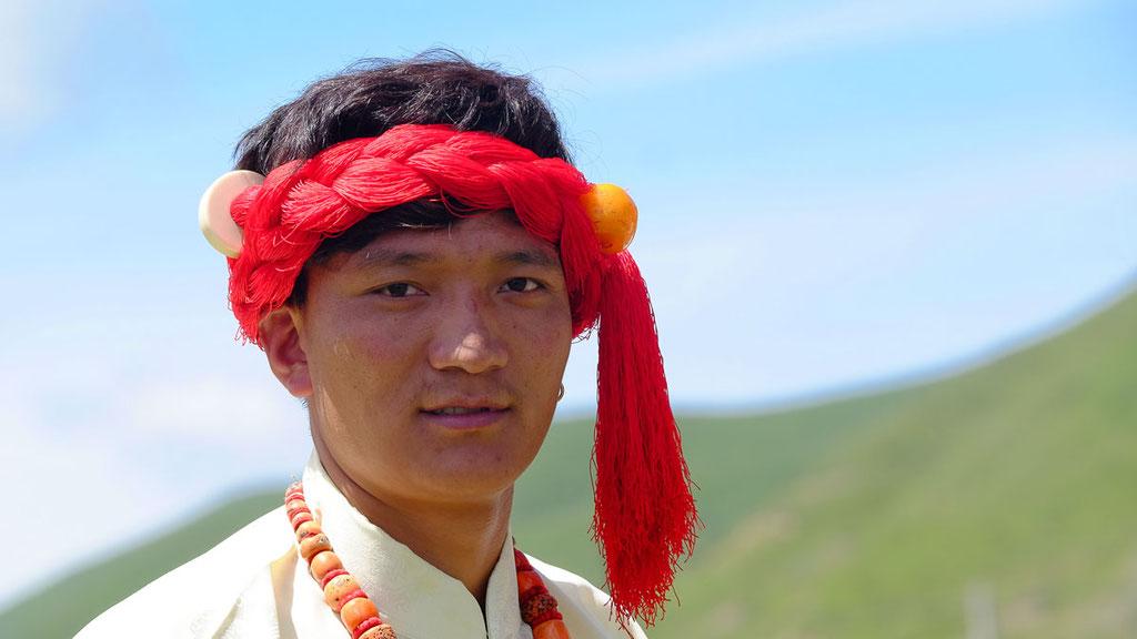 Junger Tibeter in Kham