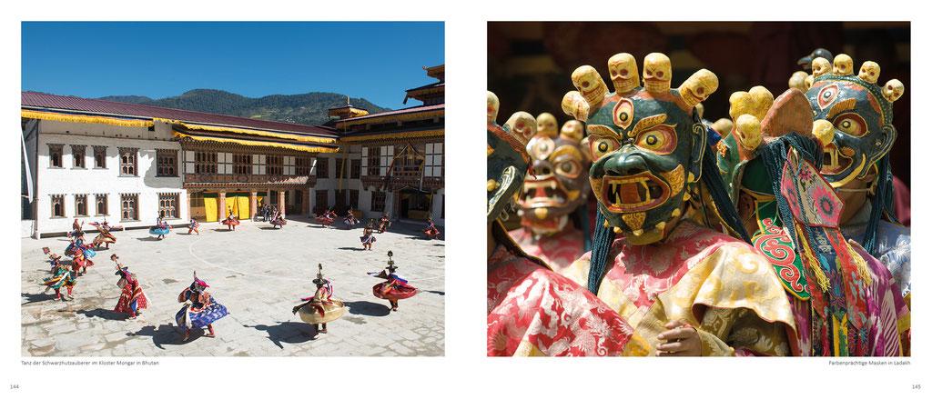 Himalaya Bildband, Klosterfeste in Bhutan und in Ladakh