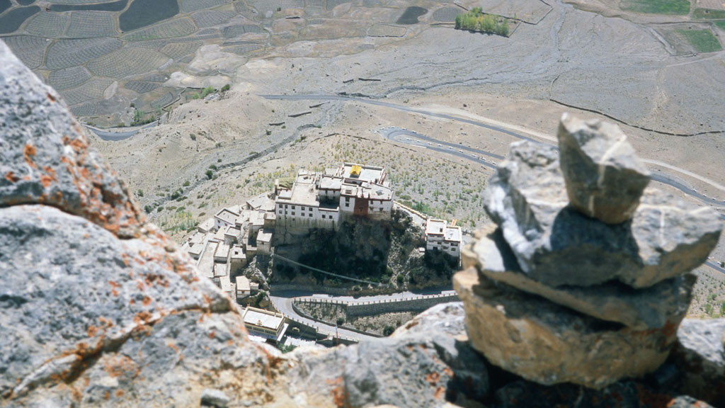 Kloster Kye in Spiti