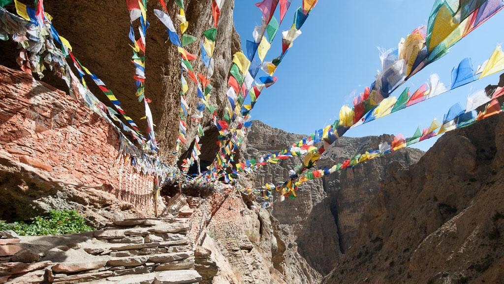 Heilige Höhle von Chungsi in Nepal