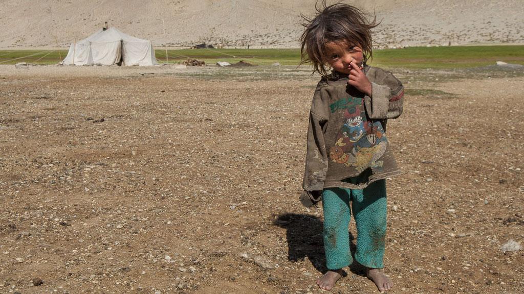 Tibetischer Nomadenjunge