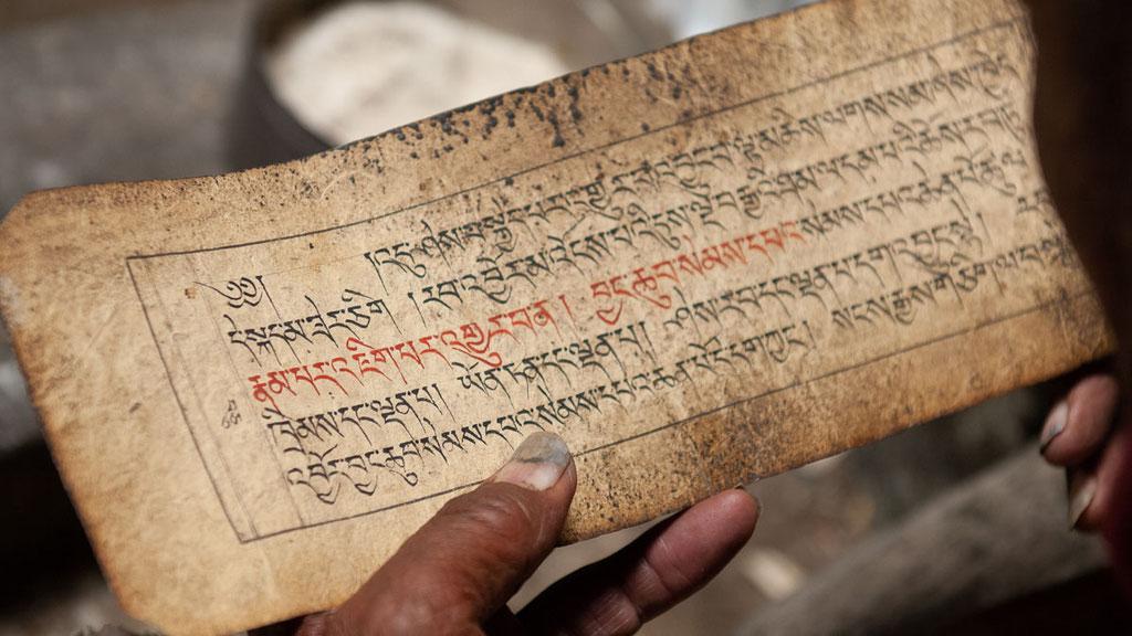 Buddhistische Schriften