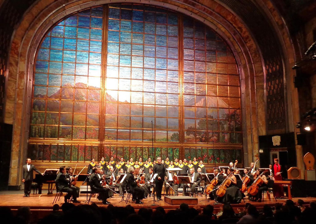 Messiaen Liturgies - Mexico Palacio de Bellas Artes