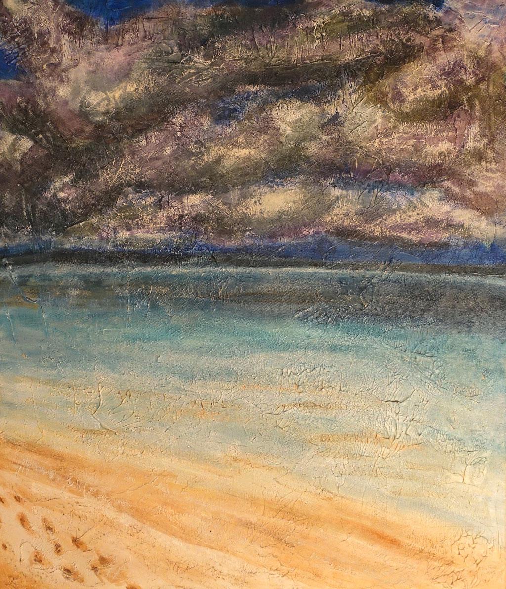 """""""Kendwa"""", Acryl auf Leinwand, 70 x 60 cm"""
