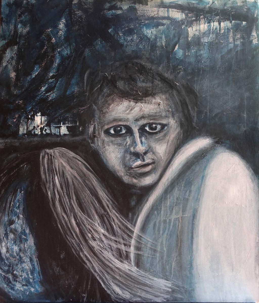 """""""Neuland"""", Acryl auf Leinwand, 60x70 cm"""