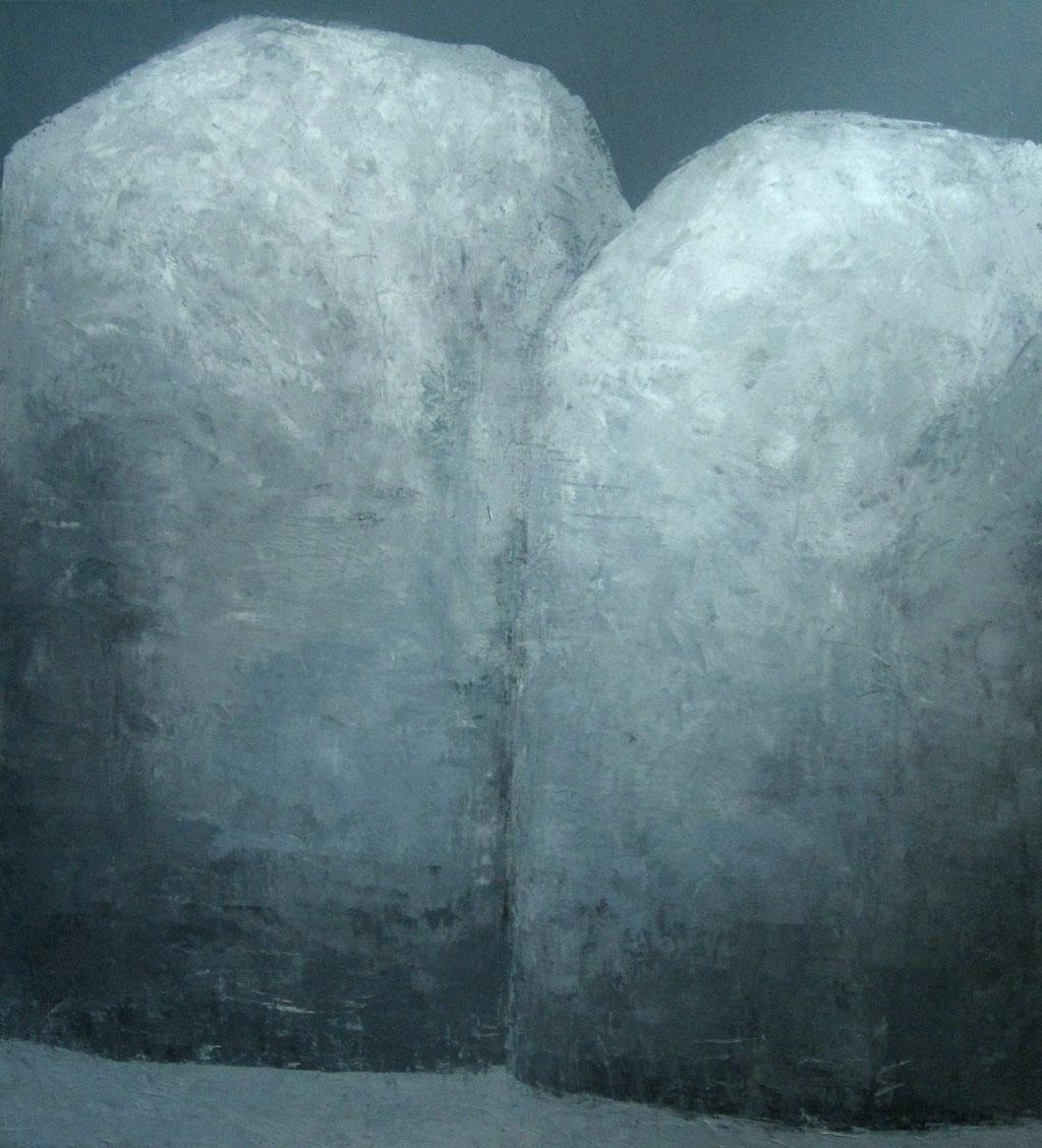 Portrait of stones - 2020 - 100 x 110cm - oil on canvas